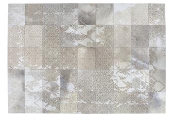 Kayoom Patchwork-Teppich Cobra 343 Silber