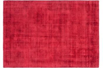 Kayoom Viskose-Teppich Dhaka Rot