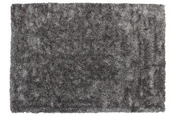 Kayoom Hochflor-Teppich Diamond 700 Grau /  Weiß
