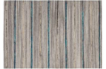Kayoom Teppich Duarte 110 Natur /  Blau