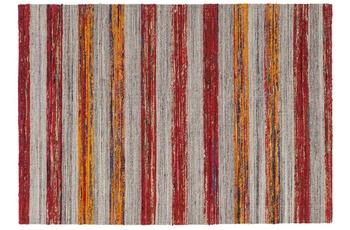 Kayoom Teppich Duarte 210 Natur /  Rot 120 x 170 cm