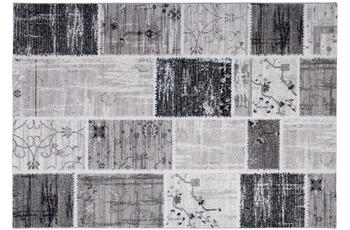 Kayoom Patchwork-Teppich Edessa Silber