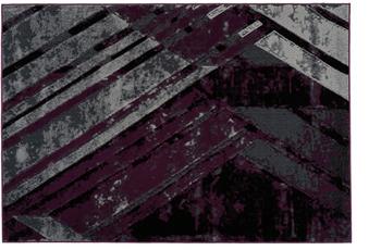 Kayoom Teppich Esperanto 425 Grau /  Violett