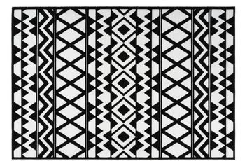 Kayoom Teppich Esperanto 725 Schwarz /  Weiß
