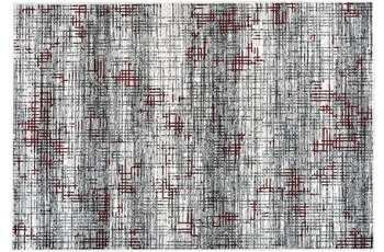 Kayoom Teppich Finish 110 Multi /  Rot 80cm x 150cm