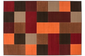 Kayoom Patchwork-Teppich Funky 2034 Rot