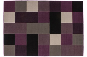 Kayoom Patchwork-Teppich Funky 2034 Silber