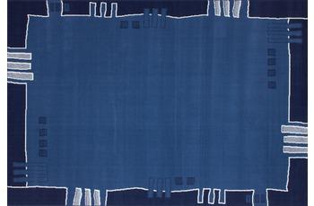 Kayoom Patchwork-Teppich Funky 514 Blau 190cm x 280cm