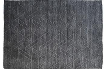 Kayoom Teppich Ganges 110 Schwarz /  Grau 80cm x 150cm
