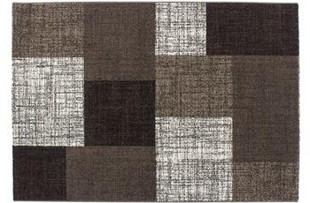 Kayoom Patchwork-Teppich Geneva Braun