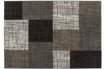 Kayoom Patchwork-Teppich Geneva Silber