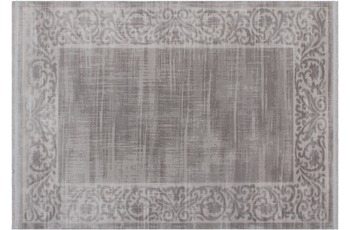 Kayoom Vintage-Teppich Hinnavaru Silber