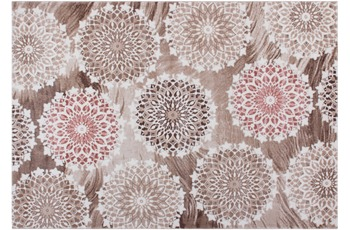 Kayoom Teppich Kavala Pink 200cm x 290cm