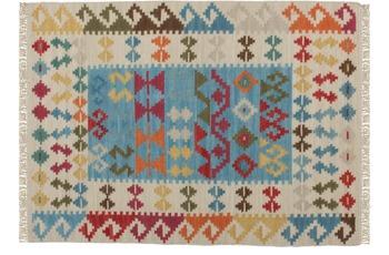 Kayoom Teppich Kilim de Luxe 115 Multi
