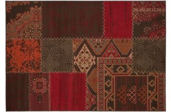 Kayoom Patchwork-Teppich Los Angeles Rot