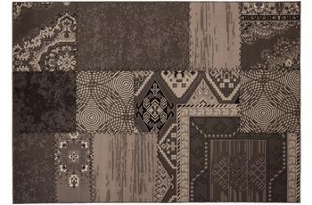 Kayoom Patchwork-Teppich Los Angeles Silber 60cm x 110cm