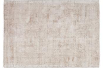 Kayoom Viskose-Teppich Luxury 110 Elfenbein /  Taupe