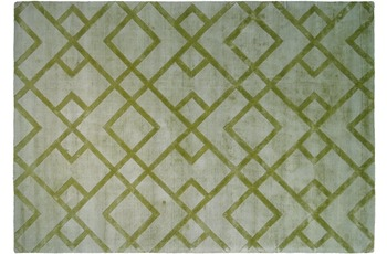 Kayoom Viskose-Teppich Luxury 310 Edelgrün