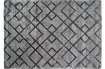 Kayoom Viskose-Teppich Luxury 310 Grau /  Anthrazit