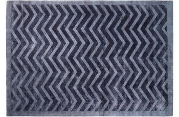 Kayoom Viskose-Teppich Luxury 410 Marineblau
