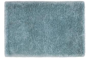 Kayoom Hochflor-Teppich Macas Pastellblau 60cm x 110cm