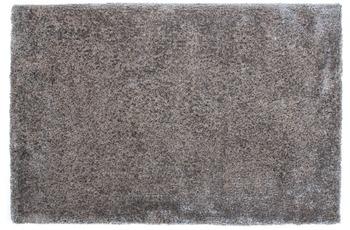 Kayoom Hochflor-Teppich Macas Silber 60cm x 110cm