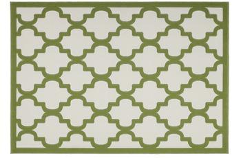Kayoom Teppich Manolya 3097 Elfenbein-Grün