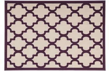 Kayoom Teppich Manolya 3097 Taupe-Lila