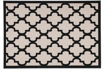 Kayoom Teppich Manolya 3097 Taupe-Schwarz 160 x 230 cm