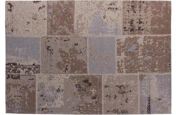 Kayoom Patchwork-Teppich Matrix 110 Beige /  Braun
