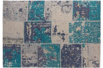 Kayoom Patchwork-Teppich Matrix 110 Türkis