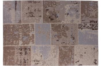 Kayoom Patchwork-Teppich Matrix 210 Braun 240cm x 300cm
