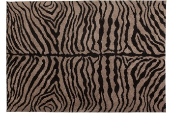Kayoom Hochflor-Teppich Montana Taupe