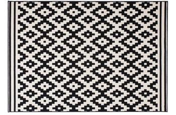 Kayoom Teppich Now! 300 Schwarz /  Weiß