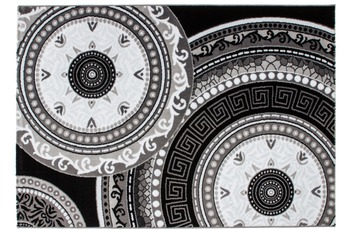 Kayoom Teppich Odessa Schwarz 60cm x 110cm
