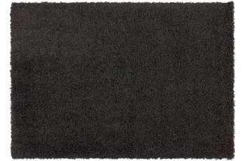 Kayoom Hochflor-Teppich Oslo Graphit 60cm x 110cm