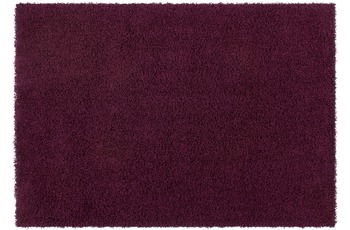 Kayoom Hochflor-Teppich Oslo Violett 60cm x 110cm