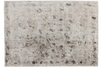 Kayoom Viskose-Teppich Otavi Silber