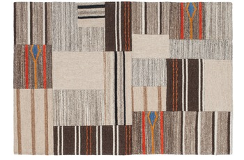 Kayoom Patchwork-Teppich Radical 220 Natural