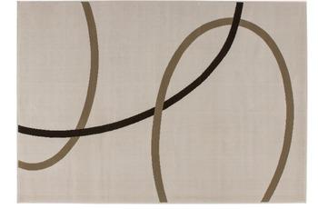 Kayoom Patchwork-Teppich Rohullah 4010 Elfenbein