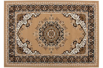 Kayoom Patchwork-Teppich Rohullah 6010 Beige 160cm x 230cm