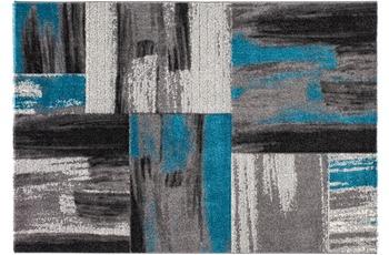 Kayoom Teppich Roseau Blau