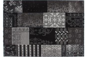 Kayoom Patchwork-Teppich Samsun Schwarz