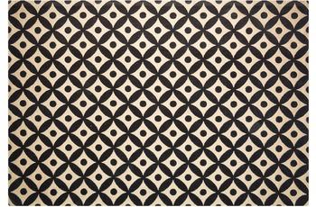 Kayoom Jute-Teppich Scandy 210 Schwarz /  Naturell