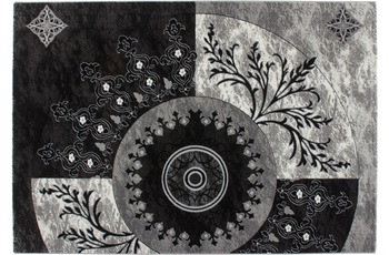 Kayoom Vintage-Teppich Skive Schwarz