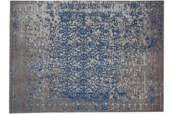 Kayoom Vintage-Teppich Sunny 310 Beige /  Blau