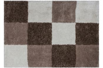 Kayoom Hochflor-Teppich Szolnok Nougat