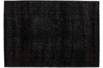 Kayoom Hochflor-Teppich Tianjin Schwarz