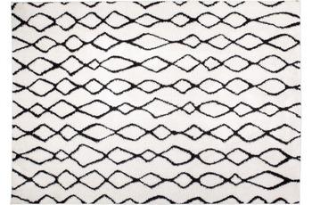 Kayoom Hochflor-Teppich Warna Elfenbein