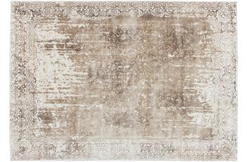 Kayoom Viskose-Teppich Windhoek Beige 90cm x 160cm